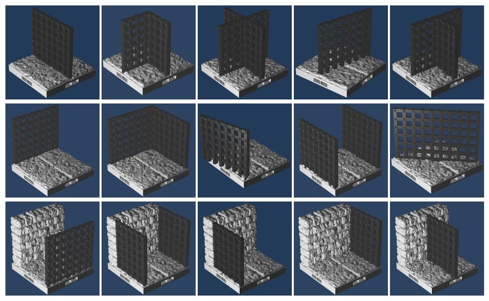 Thumbnails of prison tiles
